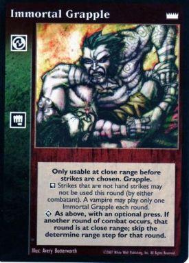 Immortal Grapple